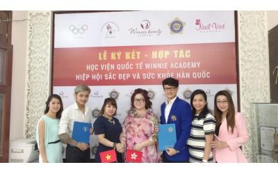 「國際美容健康總聯合會」彭玉玲會長親赴越南河內推廣IBH教育培訓技能證書