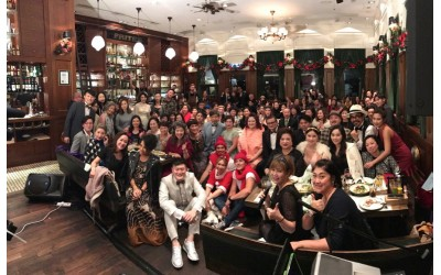 香港美髮美容業商會X國際美容健康總聯合會 2016華麗精靈聖誕夜